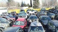 ОТ ПОСЛЕДНИТЕ МИНУТИ: Пламна автоморга в Хасково