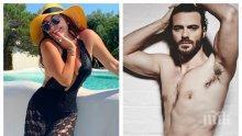 ГОРЕЩО В ПИК TV: Любовникът на Дарина Павлова лъсна в сайт за възрастни - секс сцените с красавеца Джулио Берути забранени в Русия
