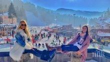 Скиорите на Боровец натопорчиха щеките заради Натали Трифонова