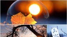 ЗИМАТА ПАК СЕ ЗАТОПЛЯ: Слънцето ще грее щедро, температурите ще стигнат рекордните 15 градуса