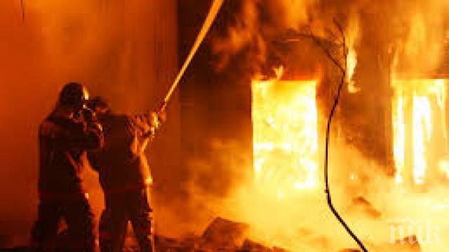 Пожар от бойлер запали апартамент във Велико Търново