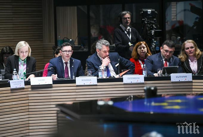 Младен Маринов в Загреб: Ключът към успешна и ефективна система на миграция е тя да е приложима, устойчива и справедлива