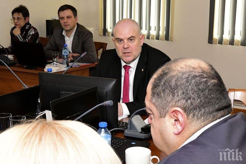 Главният прокурор Гешев с предложения за оптимизация на държавното обвинение
