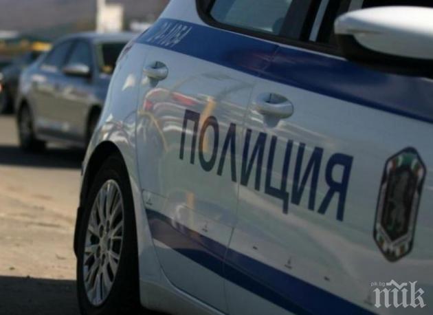 Откачалка заля с газ автомобил във Врачанско