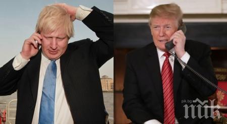"""Тръмп и Джонсън се чуха по телефона за 5G и """"Хуавей"""""""