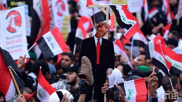 Стотици хиляди на протест срещу американските войски в Ирак