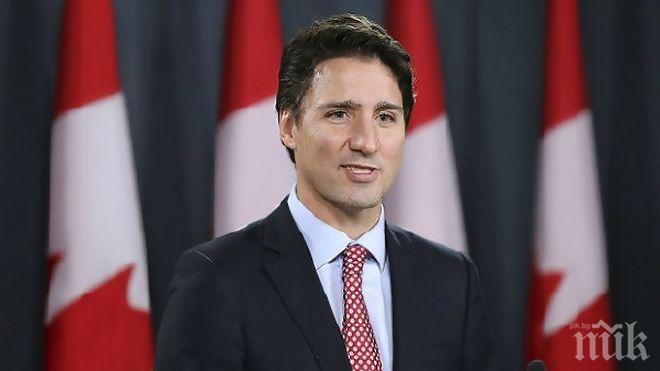 По жицата: Лидерите на Канада и Турция обсъдиха авиокатастрофата в Иран