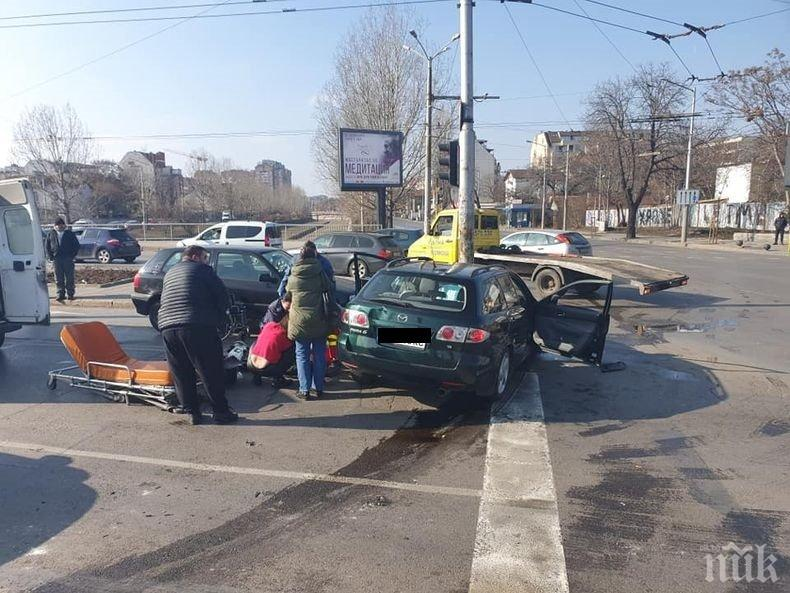 ОТ ПОСЛЕДНИТЕ МИНУТИ: Нова тежка катастрофа със загинал в София (СНИМКИ)