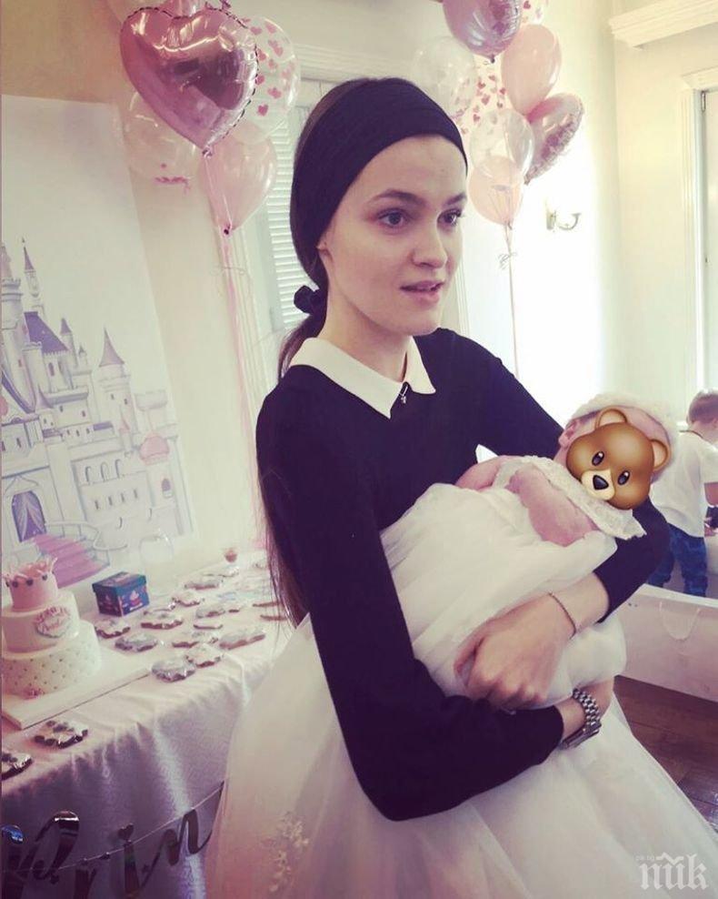 Топмодел стана майка за втори път