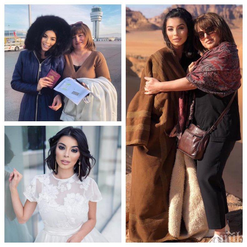 УЖАС: Невиждан порой замалко не удави Мегз в Йордания - евакуираха риалити героинята и майка й от Петра