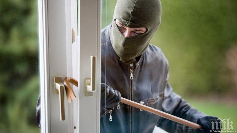 Скок на кражбите в общежития в Студентски град