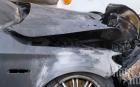 БМВ изгоря от късо съединение в Каблешково