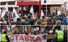 ЕКШЪН В ПИК TV: Провокатори около БСП щурмуваха регионалното министерство - полицията ги разгони със сълзотворен газ, има ранени полицаи (ОБНОВЕНА/СНИМКИ)