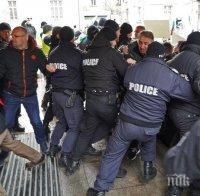 БЪРЗА РЕАКЦИЯ: Четирима задържани след погрома пред МРРБ и нападението над полицаи