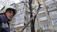 Силният вятър в София изпочупи клони