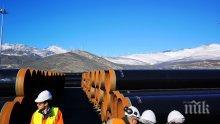 47 км тръби за газовата връзка с Гърция вече са произведени