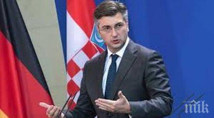ЧЕЛЕН ПРИМЕР: Хърватският премиер взе главата на здравния министър заради имотни афери