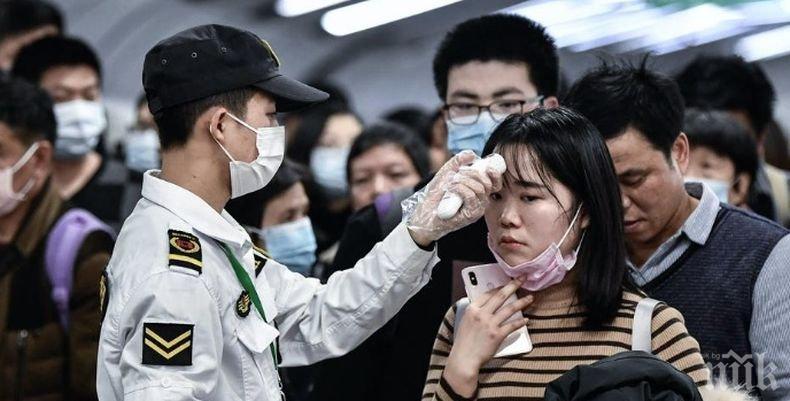 Броят на заразените с коронавируса в Китай стигна почти 2 900 души