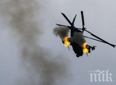 Хърватски военен хеликоптер падна в Адриатическо море