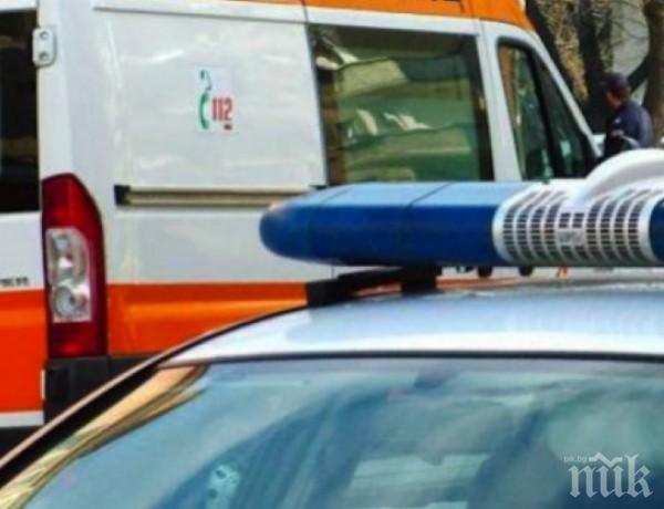 """Катастрофа между украински ТИР и кола на магистрала """"Марица"""" - има ранени"""