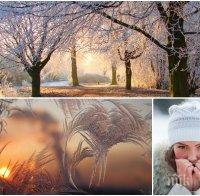 СТУД И МРАЗ! Топ синоптичка със зимна прогноза: Започва ново понижаване на температурите