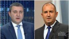 ДИРЕКТНО - Владислав Горанов: Президентът прояви политически нагон още в първите си дни като държавен глава