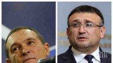 Шефът на МВР Младен Маринов: Запалиха ни телефона със сигнали за Васил Божков