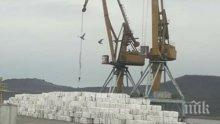 Стовариха нова пратка отпадъци за горене на пристанище Варна-Запад