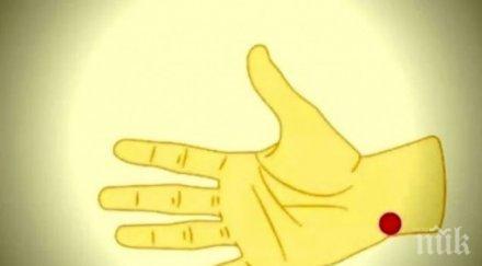 Точка на ръката сваля мигновено кръвното
