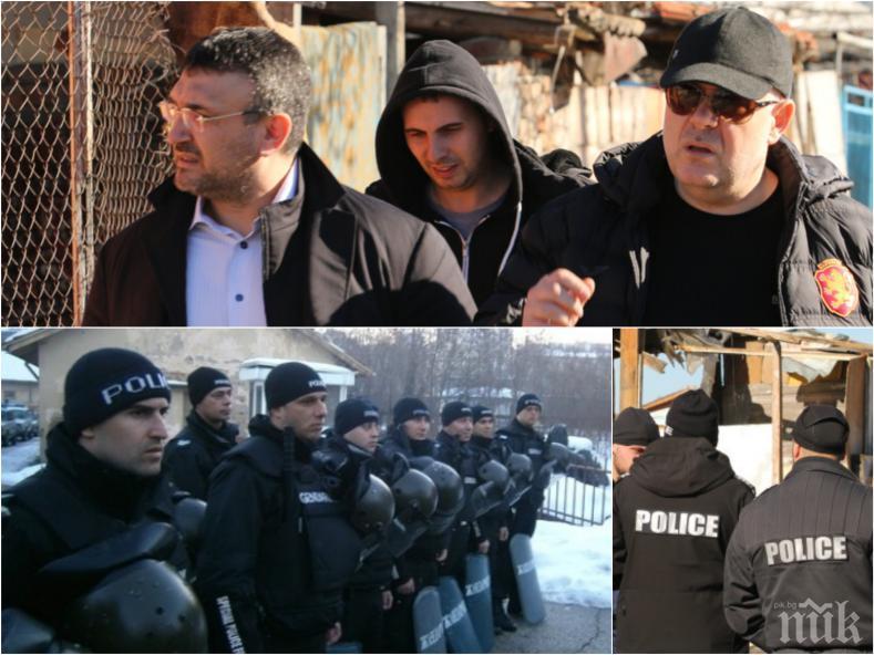 ПЪРВО В ПИК: Спецакция по разпореждане на Гешев блокира Добрич, градът почерня от полиция!