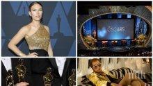 Шоуто на Оскарите - полудели от пресищане