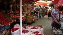Пишат актове на нелегални търговци от Женския пазар