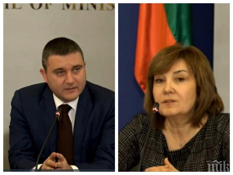ИЗВЪНРЕДНО В ПИК TV: Горанов и ръководството на НАП събират бизнеса за Наредба Н-18 и СУПТО (ОБНОВЕНА)