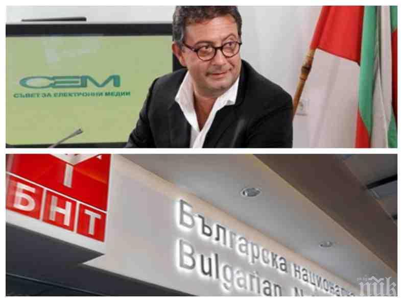 САМО В ПИК: БНТ в тотален шок - Коко Каменаров натрупал дългове от над 20 млн. лв.! Бившият директор грубо газил закона и докарал телевизията до фалит (ДОКУМЕНТ)
