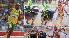 НЕВЕРОЯТНО! Индийски бегач, без сам да подозира, подобри рекорда на Юсейн Болт