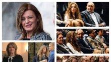 МИСТЕРИЯ В ПИК: Румен Радев без Десислава в Народния театър - ето коя дама предпочете президентът вместо оскандалената си втора съпруга