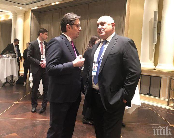 ИЗВЪНРЕДНО В ПИК: Борисов поздрави президента на Северна Македония за ратифицирането на договора за членство в НАТО