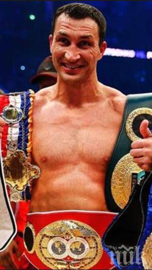 Владимир Кличко с коментар за възможно свое завръщане на ринга