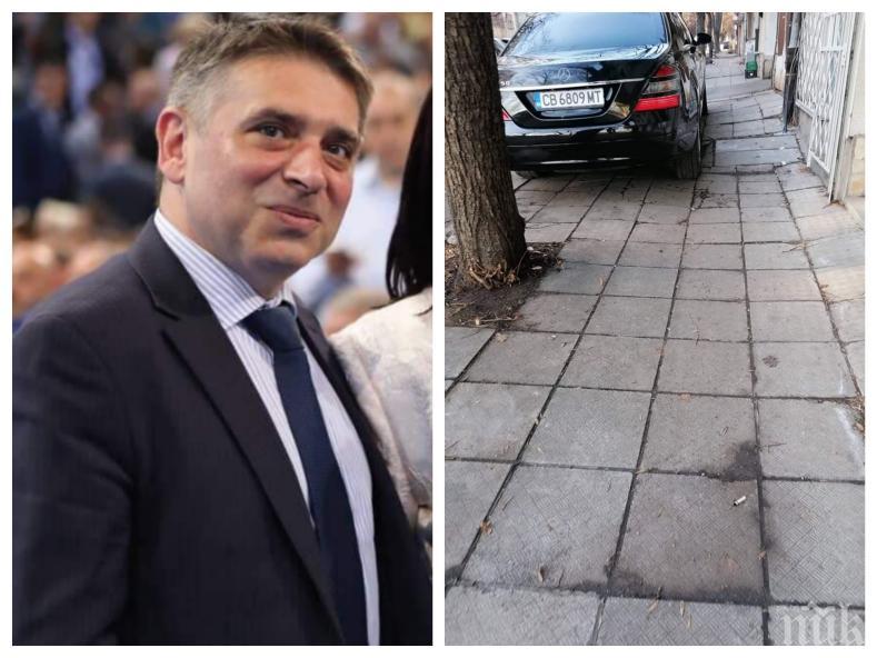 Правосъдният министър с публично извинение към съседите си заради кола на НСО - Данаил Кирилов тръгва пеша из София