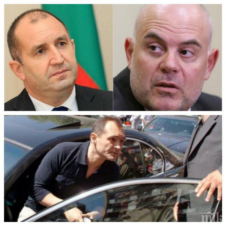 БОМБА В ПИК! Подозират Румен Радев, че заедно с руските служби опитва да освободи Васил Божков