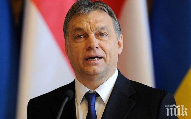 Орбан: Миграцията е организирана инвазия