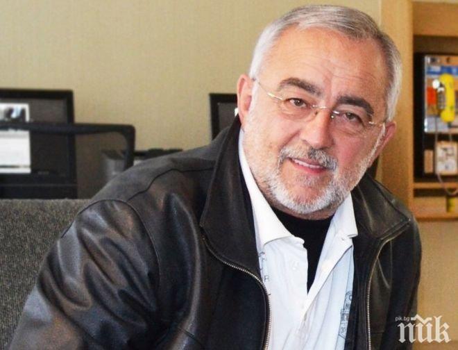 Мариус Донкин празнува 70-годишен юбилей на сцената на Народния театър