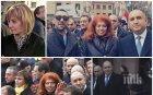 Румен Радев с въдворен в лудница авер на подсъдимата Ченалова до паметника на Левски (СНИМКИ)