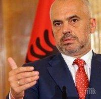 Партията на премиера Еди Рама печели на изборите в Албания