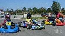 Клиенти се сбиха на писта за картинг в Шумен