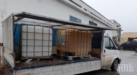 Митничари спипаха 15 000 литра нелегална нафта