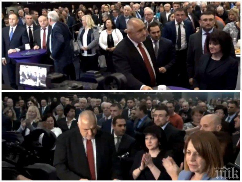 ПЪРВО В ПИК TV: Премиерът Бойко Борисов на метри от Румен Радев след словесната атака на президента срещу кабинета (НА ЖИВО/СНИМКИ/ОБНОВЕНА)