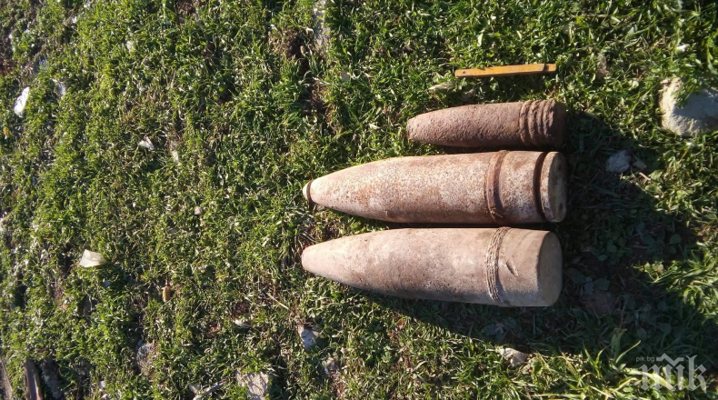 Военни откриха невзривени боеприпаси край Смядово