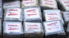 В Антверпен откриха 700 кг кокаин, прикрит като трапезна сол