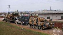 Руската авиация бомбардира 18 населени места в Идлиб